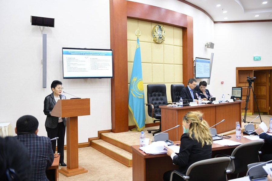 09.11.2017 Presentation of the draft law on improving the protection of property rights and arbitration