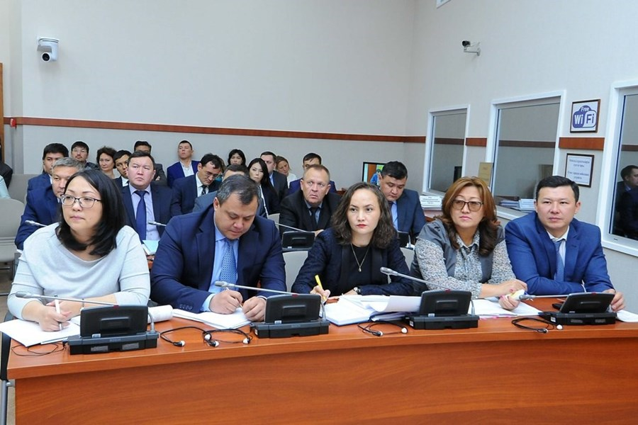 "12.09.2018 Presentation of the draft law ""On amendments and additions to some legislative acts of the Republic of Kazakhstan on transport issues"""