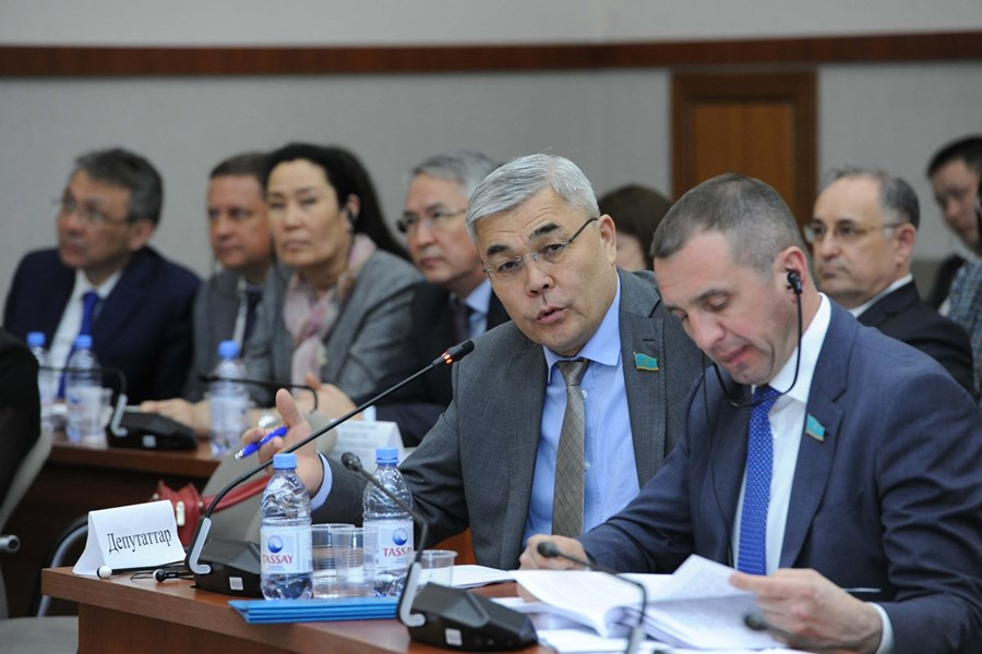 16.05.2019 Presentation in the Mazhilis: Reports of the Government and the Accounts Committee - on the execution of the budget-2018