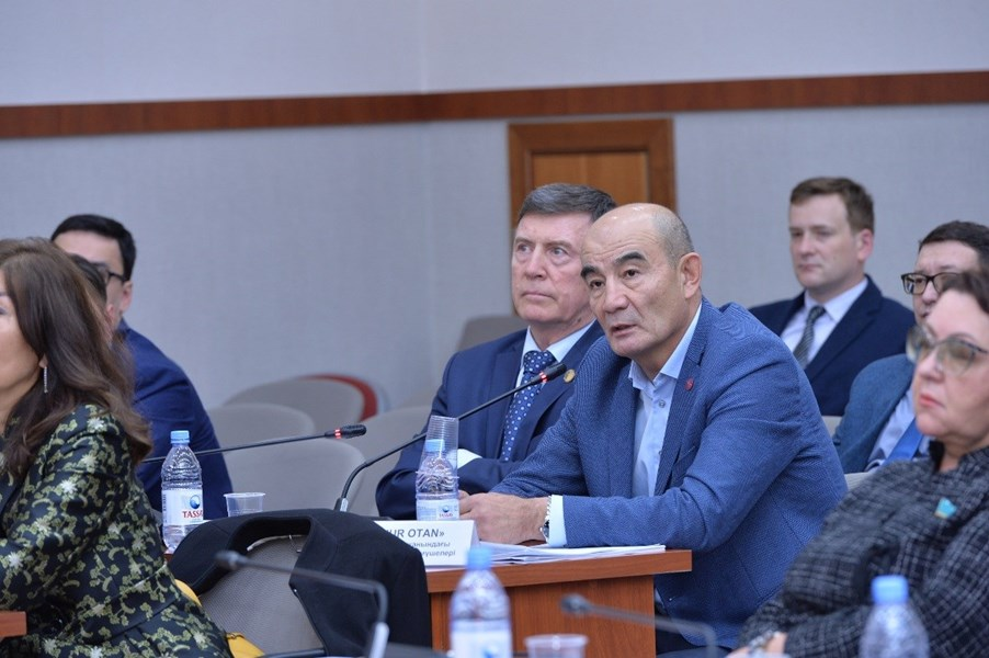 10.09.2019 Presentation of the draft Administrative Procedure Code with related amendments was held in the Mazhilis