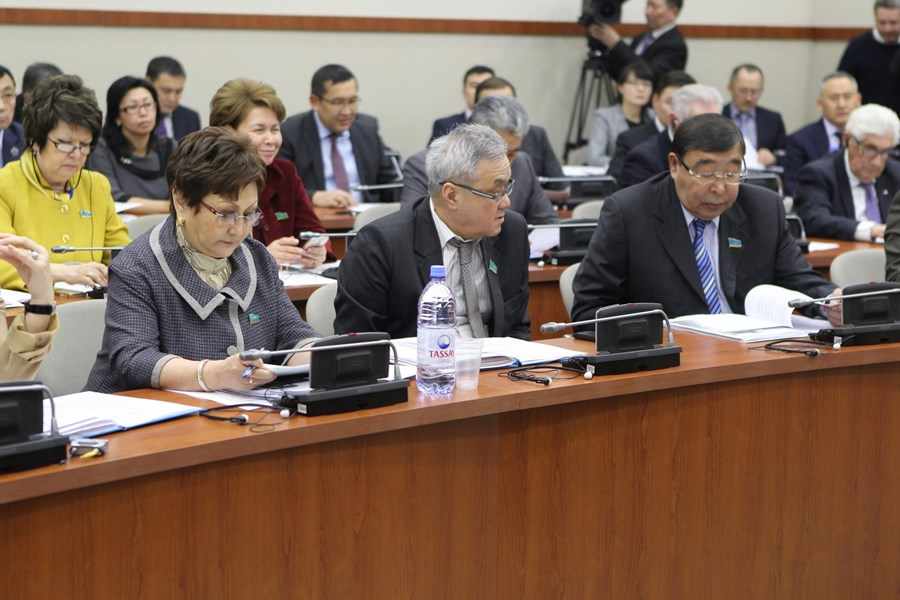 February 02, 2015 Enlargedmeeting of the Committee forEconomic Reforms and Regional Development of the Mazhilis of the Parliament of the Republic of Kazakhstan